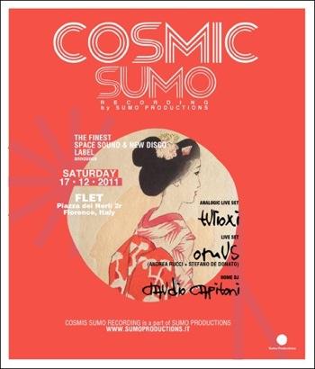 cosmic sumo @ FLET